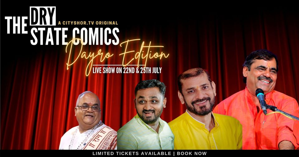The Dry State Comics - Daayro Edition - Live Show