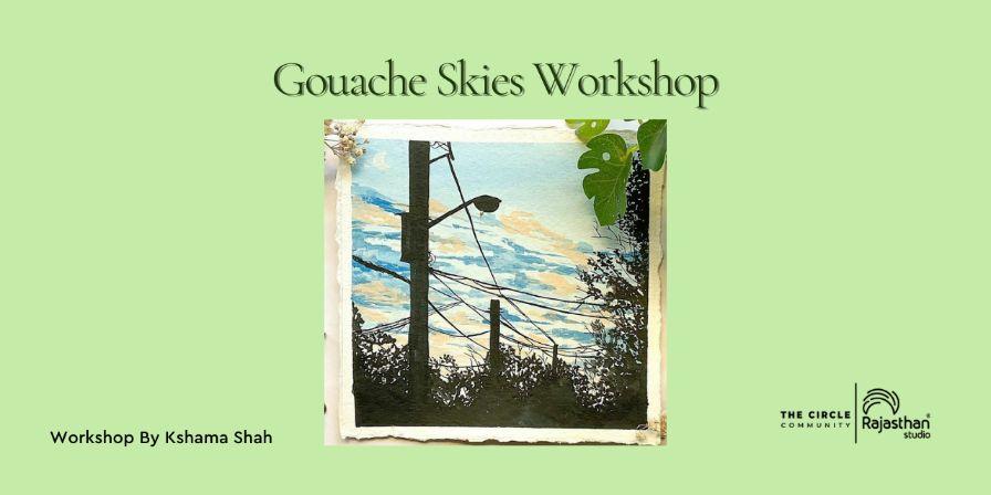 Gouache Skies Workshop
