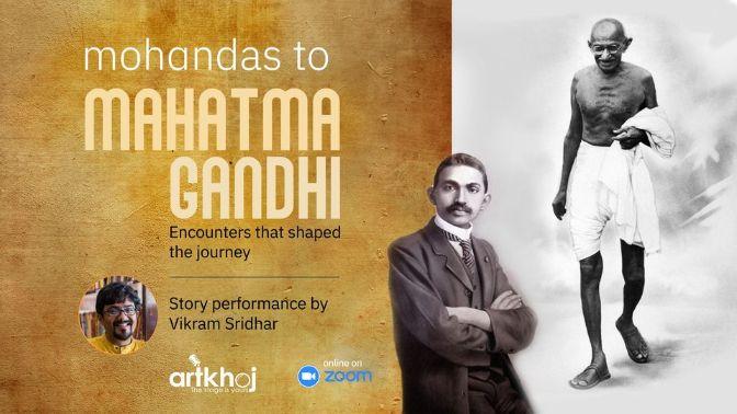 Mohandas to Mahatma Gandhi - Online Storytelling