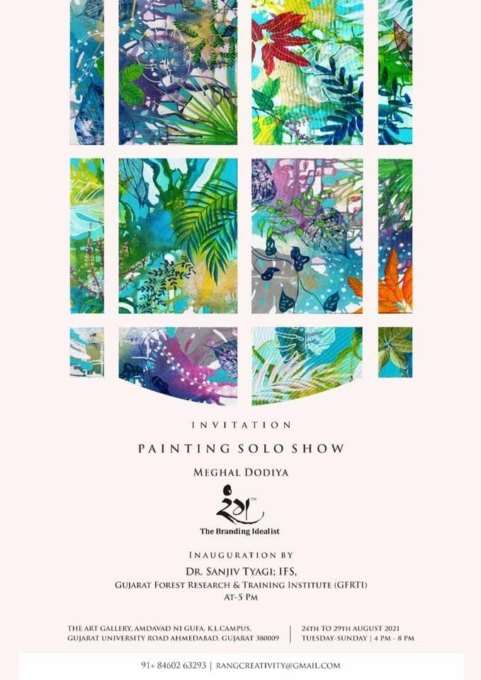 Painting Solo Show by Meghal Dodiya