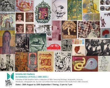 Urmila Art Gallery - An Exhibition Of Prints