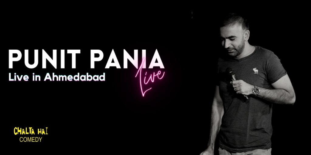 Punit Pania Live in Ahmedabad